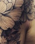 bambi_tattoo_on_move_floral_flower_skull