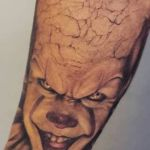 bambi_tattoo-on-move_tatouage_clown_horror_stephanking_realistic_realisme
