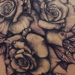 bambi_tattoo-on-move_tattoo_tatouage_linetattoo_artwork_cover_covertattoo_rosetattoo_rosedesign_rose_blackandgreytattoos_realistictattoos_realistink