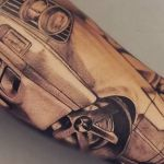 bambi_tattoo-on-move_tattoo_tatouage_tattooart_tattooartist_bmw_voiture_car_artwork_drift_tattoomecanico_shadingtattoo